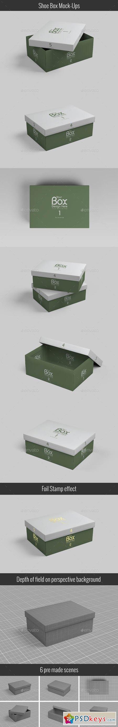 Shoe Box Mockups 21020438