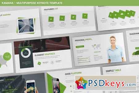 Kamana Keynote Template 1961717 » Free Download Photoshop