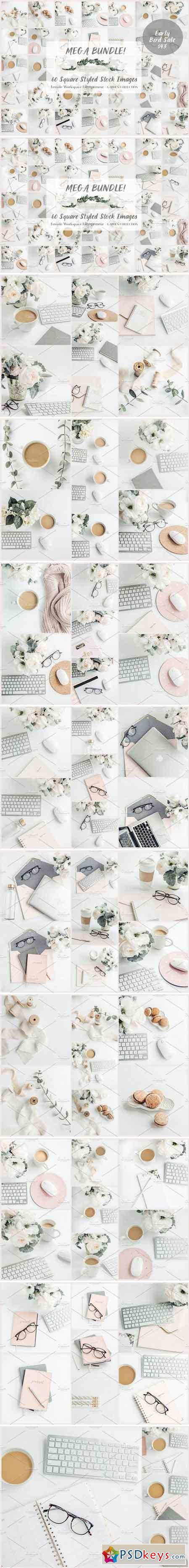 Mega Bundle- 60 Social Media images 1383535