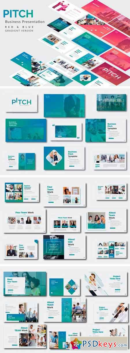 Pitch Business Keynote Template 2010934