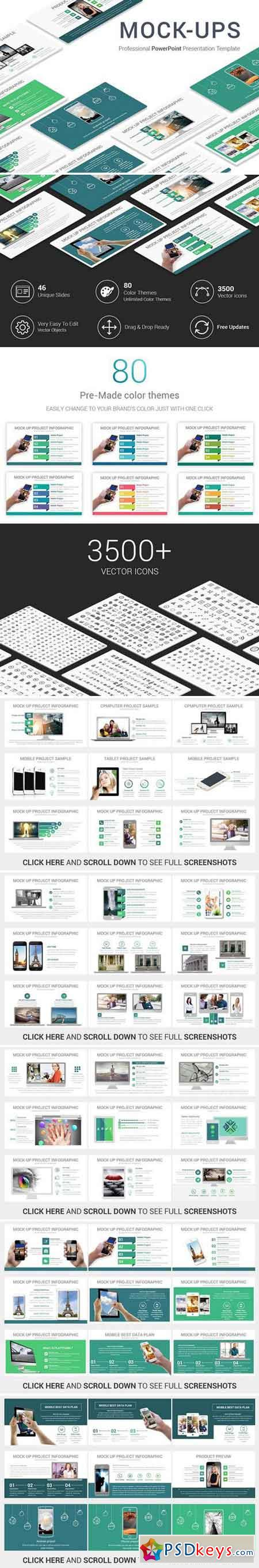 Mock-ups PowerPoint Template 2025185