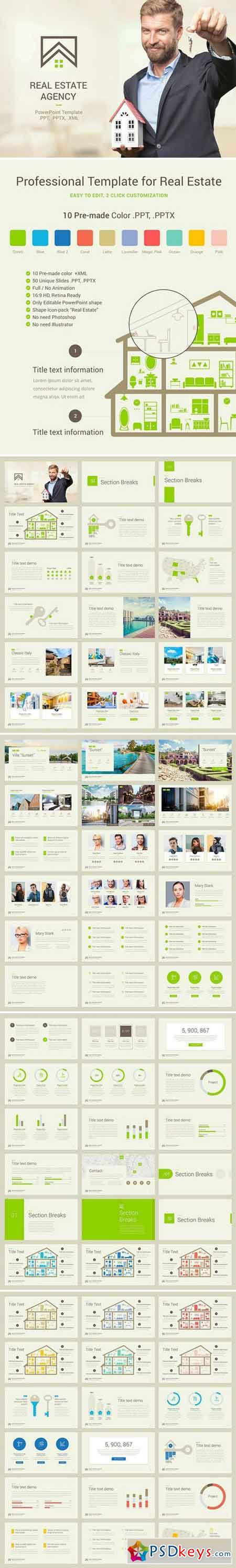 Real Estate PowerPoint Template 2042501