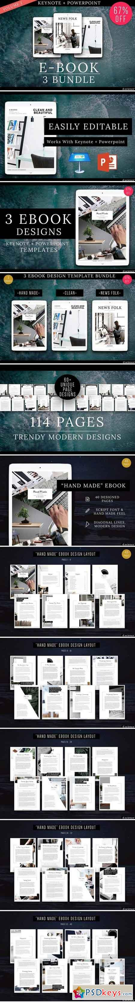 3X Ebook Bundle Templates 2004166