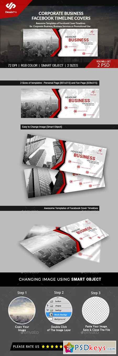 Corporate Business FB Timeline Cover - AR 21043785