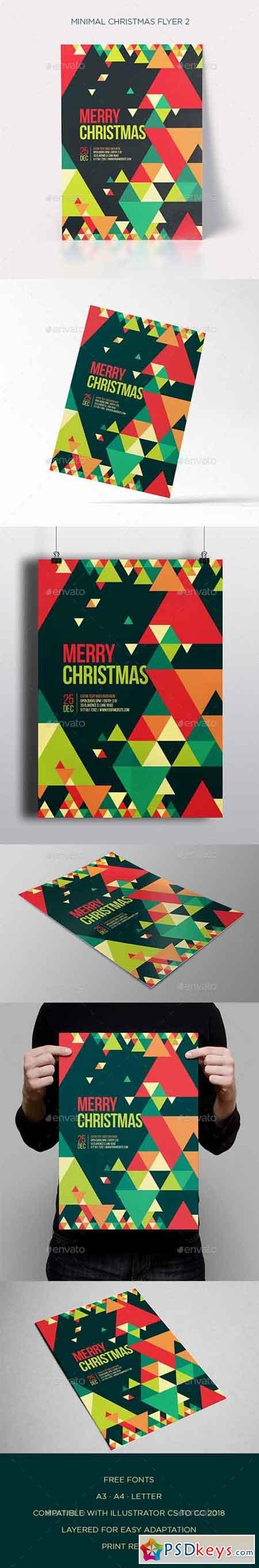 Minimal Christmas Flyer 2 21055126