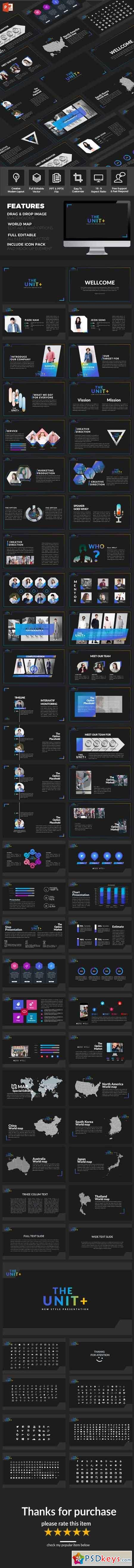 The Unit - Multipurpose PowerPoint Template 21037533