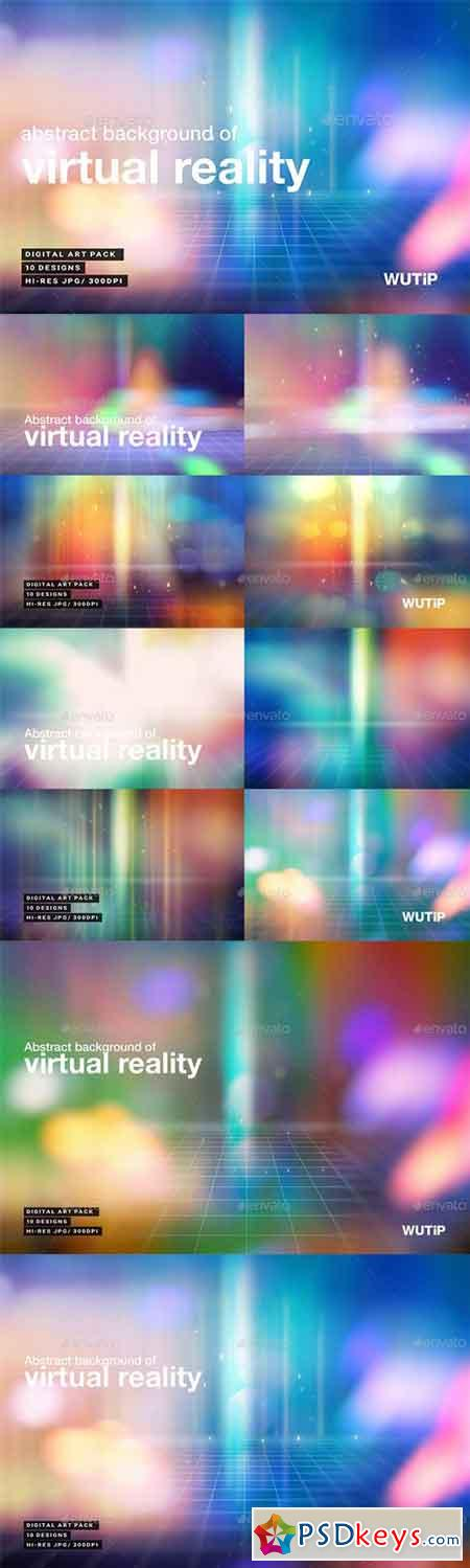 Abstract Background Of Virtual Reality 20897336