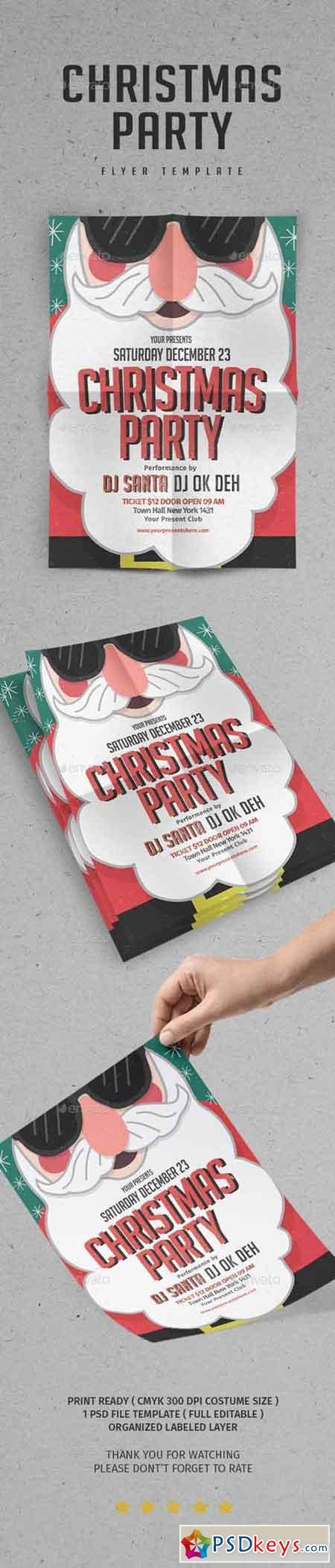 Santa party Flyer vol.4 21052715