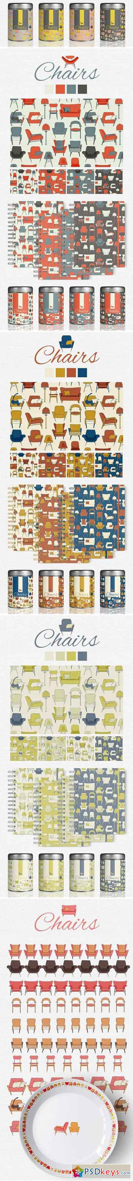 Chairs Vector Pack 2042928