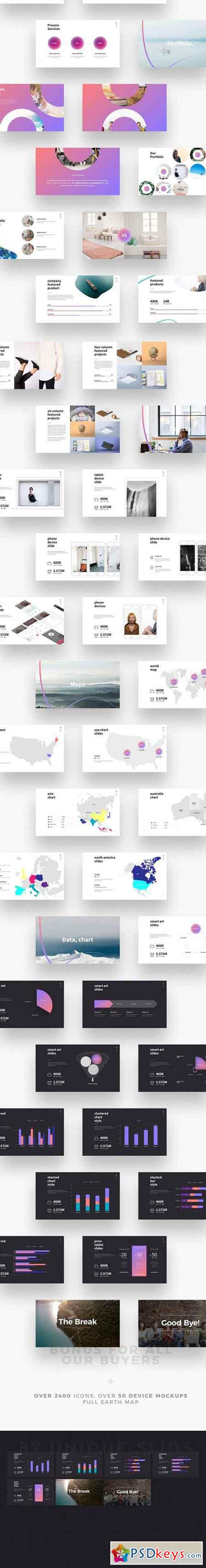 SHAPER - Keynote Template 2058768