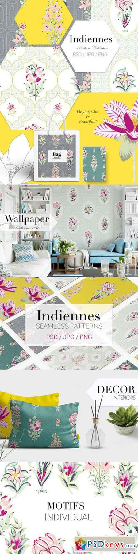 Indiennes - Exquisite Prints 2042647