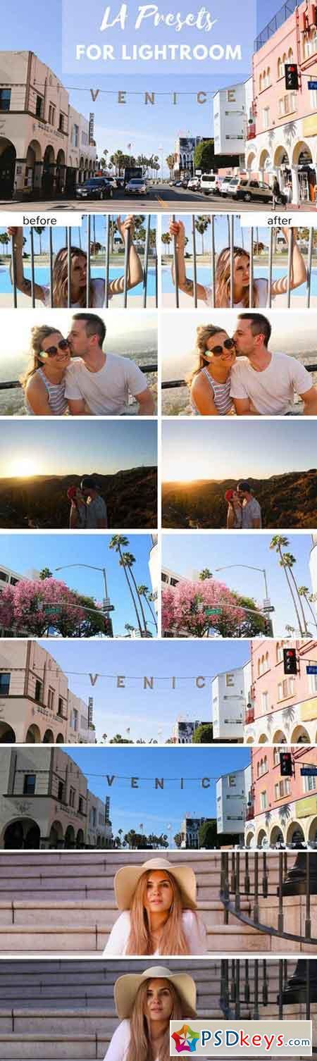 Dreamy LA Lightroom presets 2058670