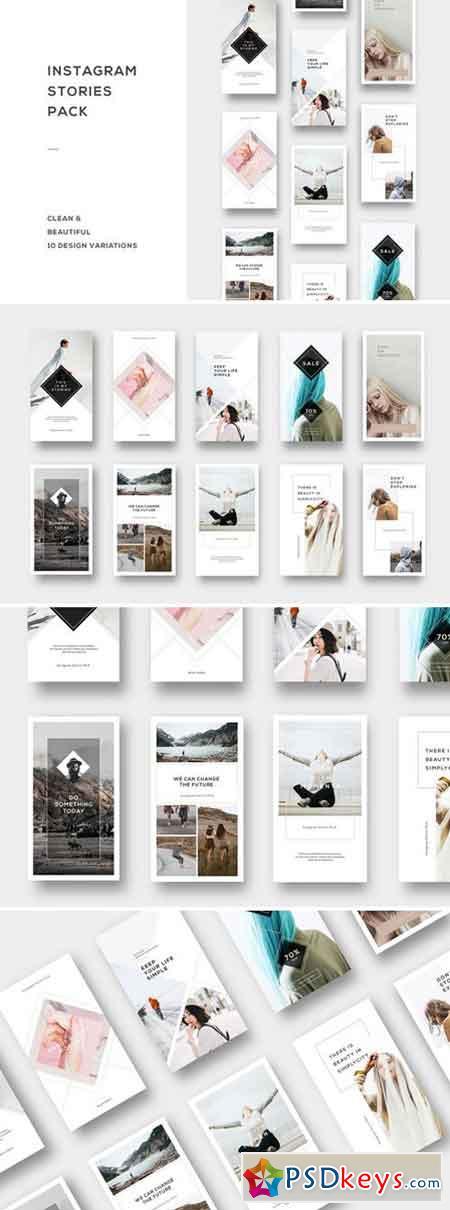 Instagram Stories Pack 2039531 » Free Download Photoshop