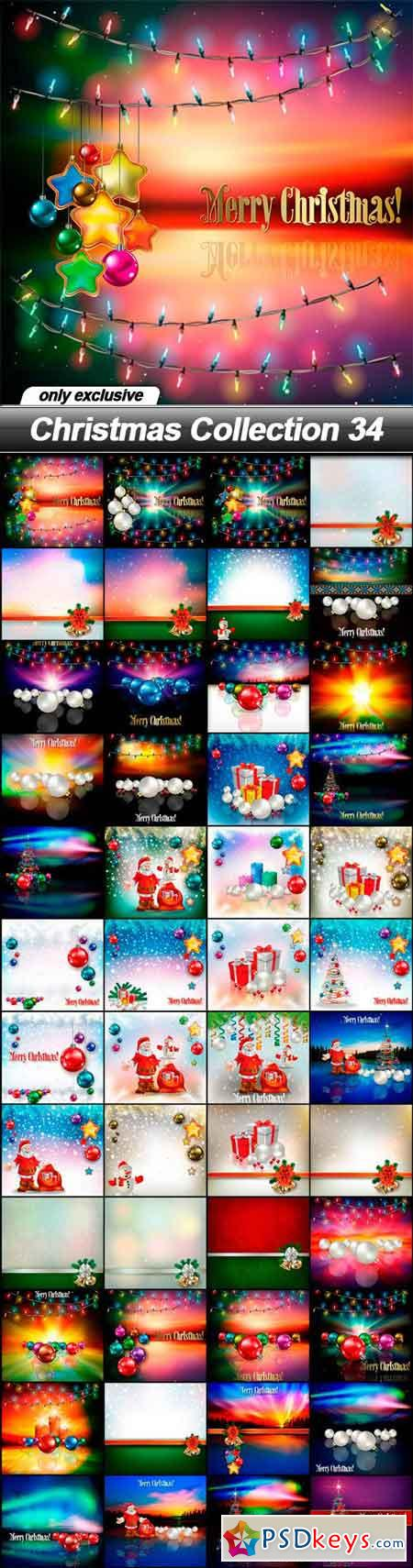 Christmas Collection 34 - 48 EPS