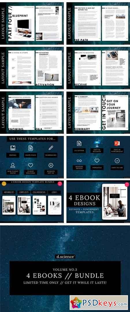 4X Ebook Bundle Templates 2022412