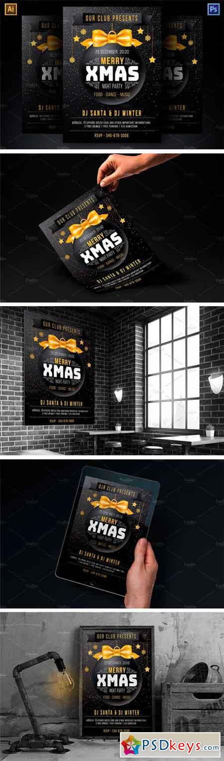 Template For Xmas Party 2054184