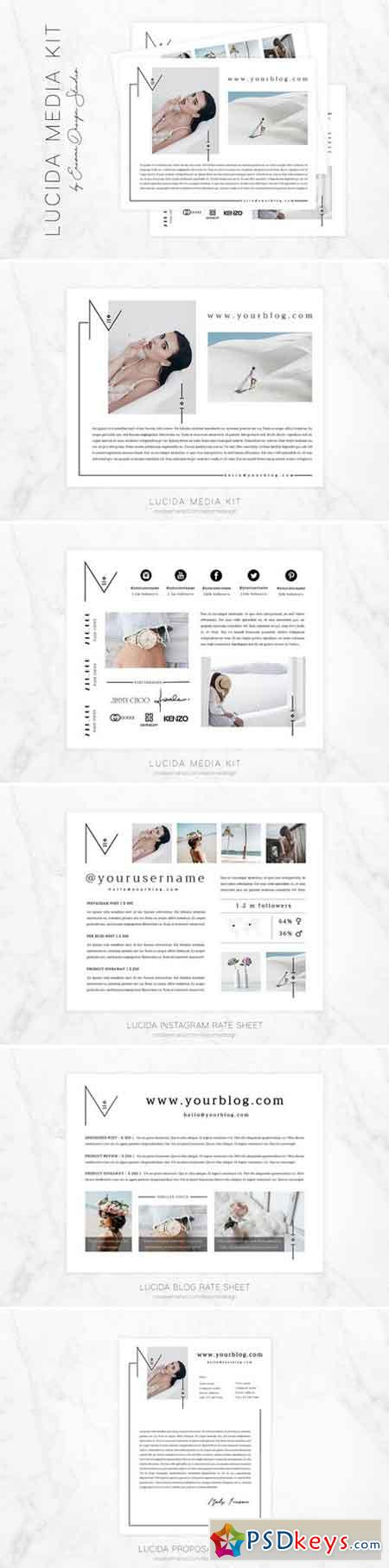 Media Kit Template 2057796