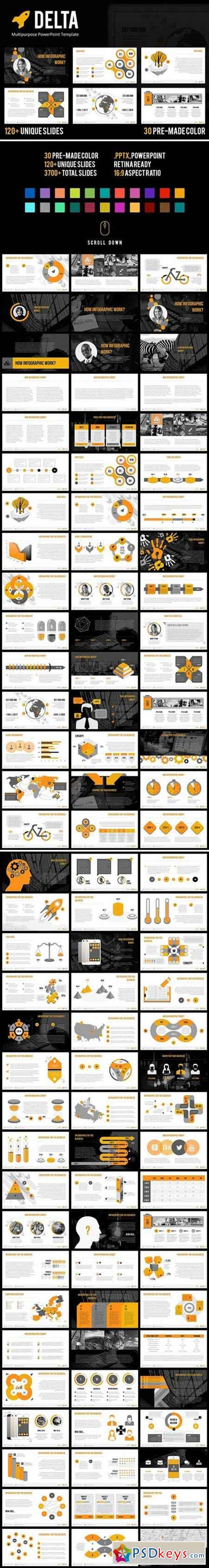 Delta - PowerPoint Template 2024857