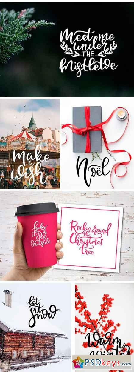 Winter Lettering Overlays 2051720