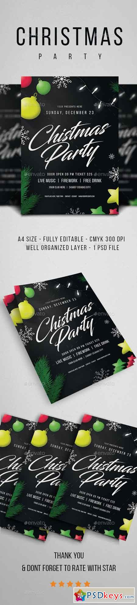 Christmas Party Flyer Vol.4 21072603