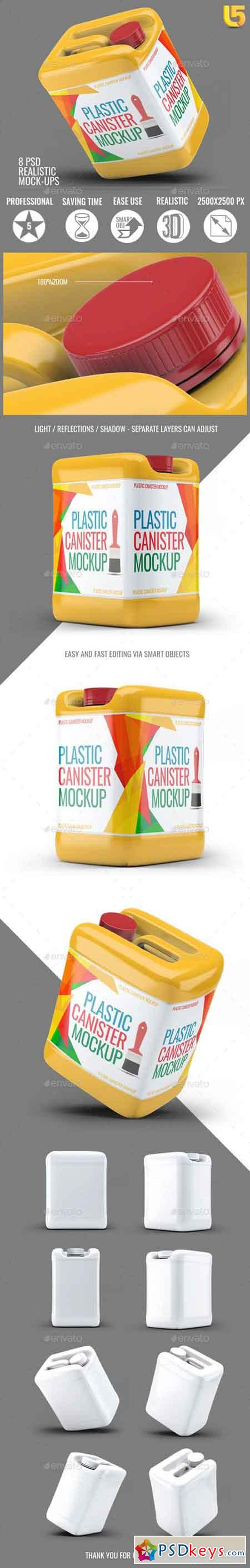 Plastic Canister Mock-Up 21074422