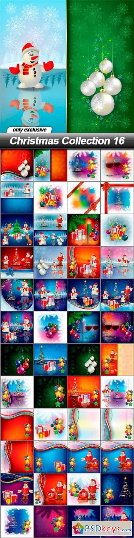 Christmas Collection 16 - 49 EPS