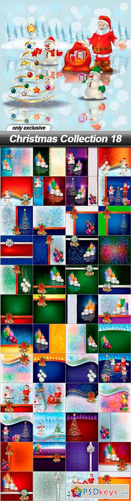 Christmas Collection 18 - 48 EPS