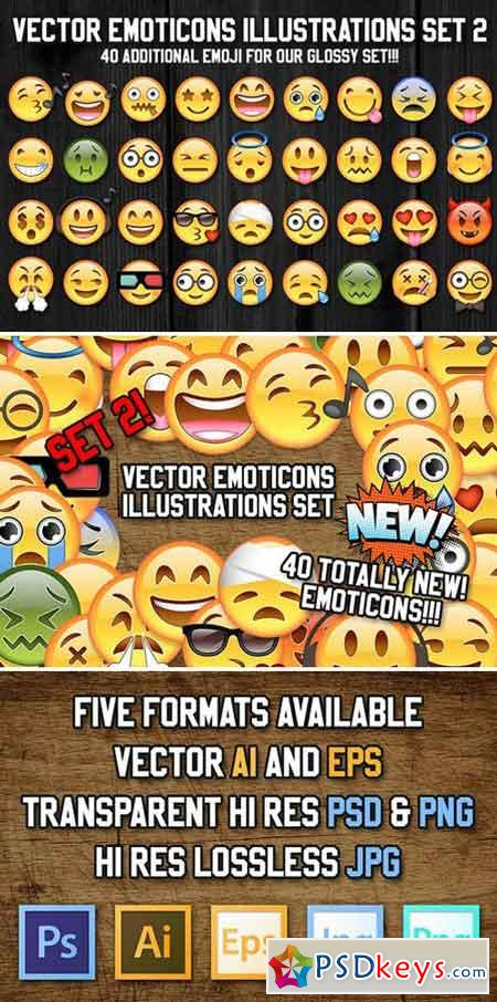 36 Vector Emoji Illustration Set 2 2057515