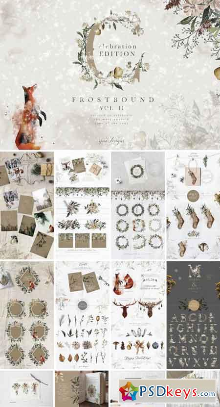 Frostbound Festive Edition + font 2051457