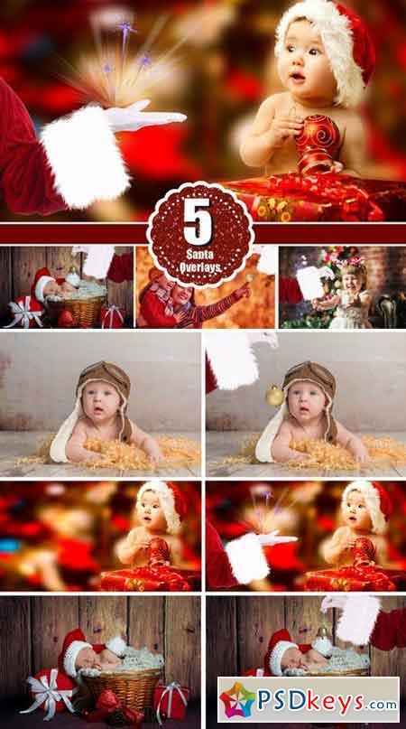 Santa Hand, Christmas photo overlays 2067307