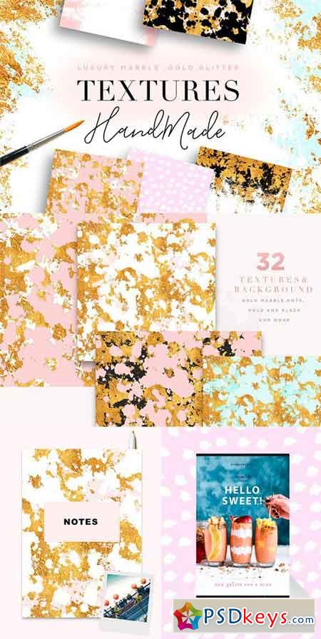Luxury Marble & Gold Textures 2037495 » Free Download