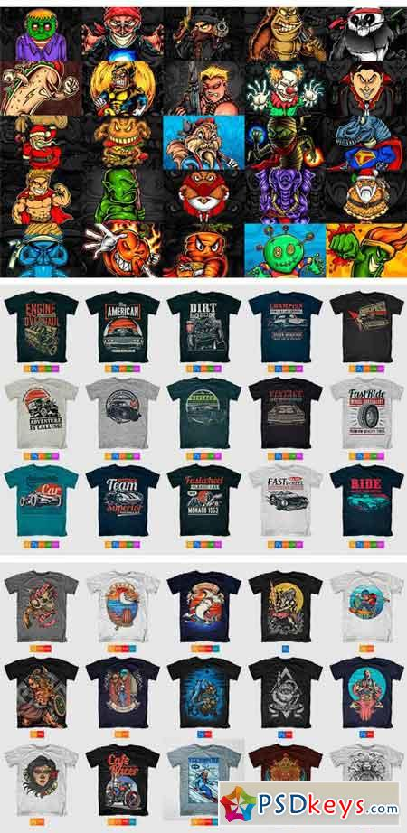 94a64468d7a 100 T-Shirt Designs 2037879 » Free Download Photoshop Vector Stock ...