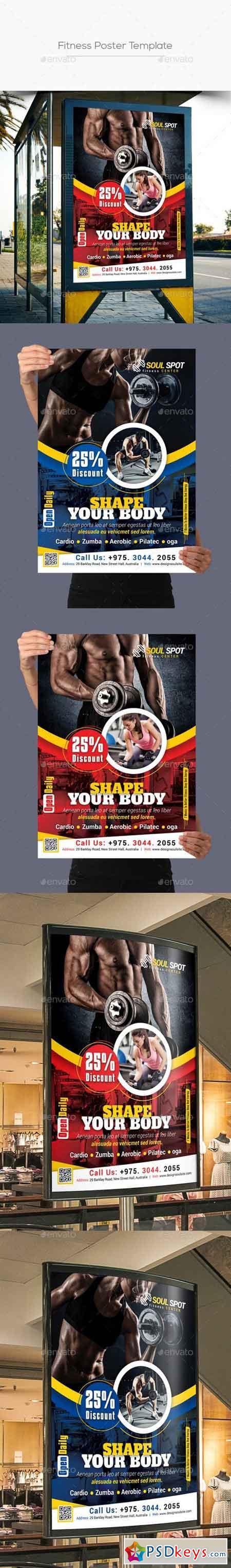 Fitness Poster 21082939