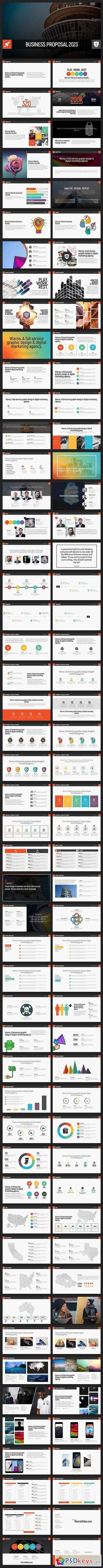 Acrobat PowerPoint Template 1835248