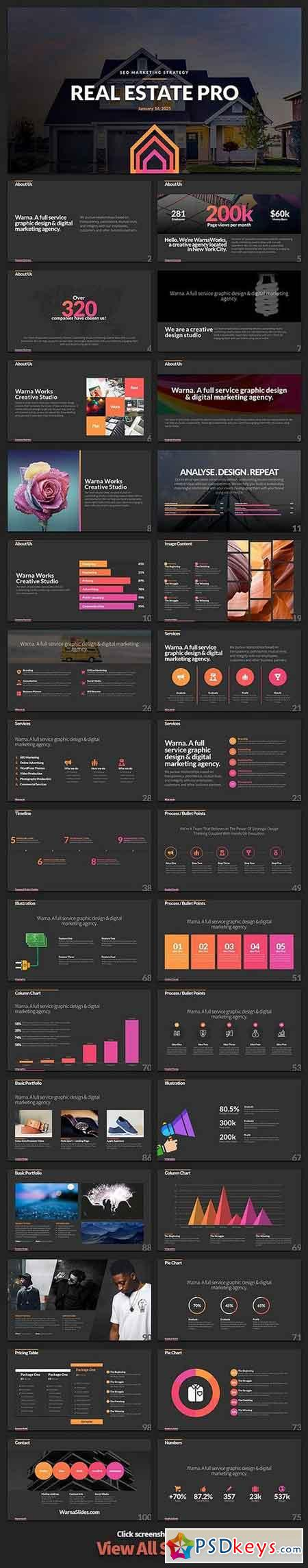 Realty PowerPoint Template 1845006