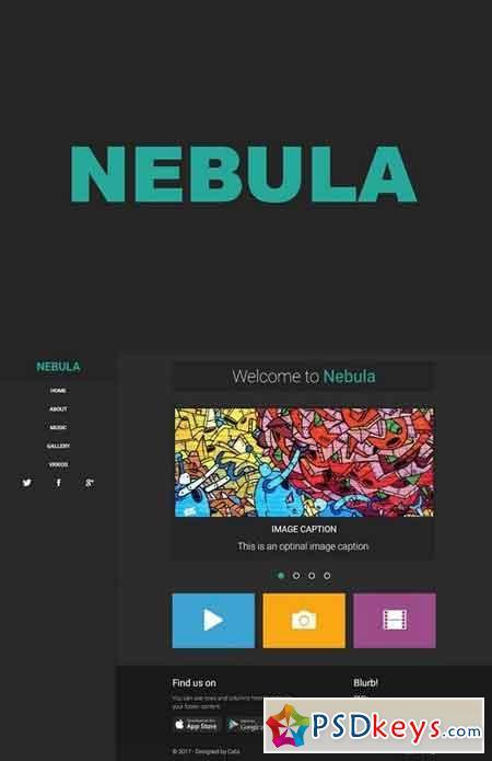 Nebula - Creative Portfolio 1825608