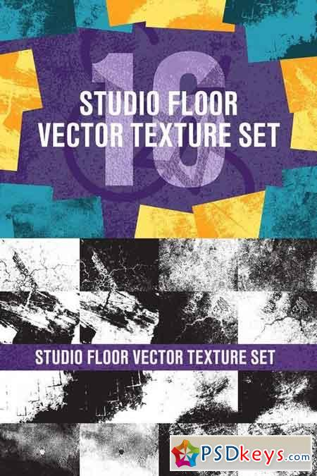 Studio Floor Vector Texture Set 1441678