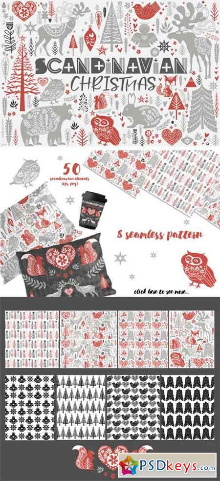 Scandinavian Christmas Set 2052630