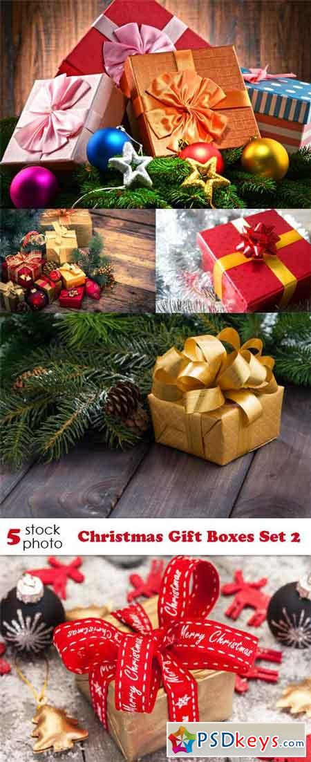 Photos - Christmas Gift Boxes Set 2