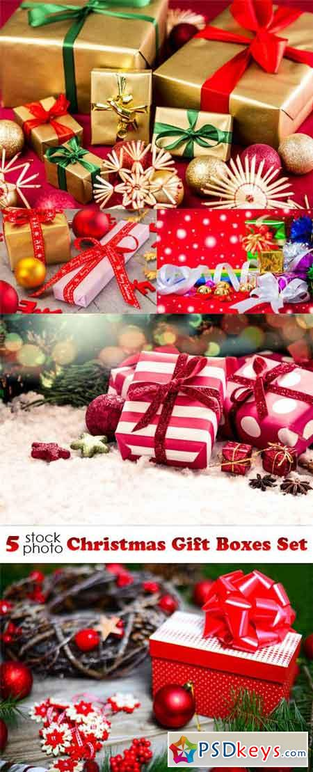 Photos - Christmas Gift Boxes Set