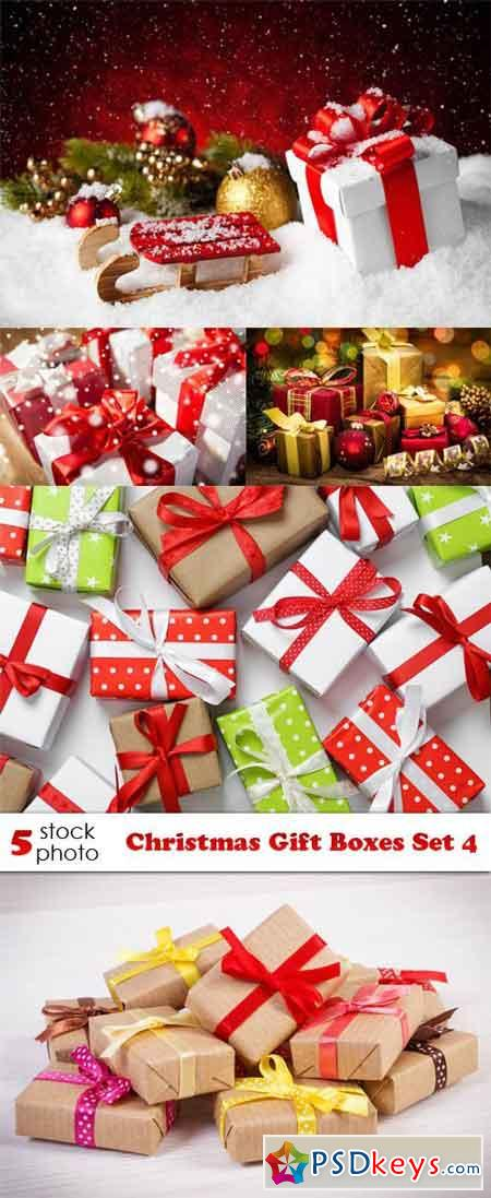 Photos - Christmas Gift Boxes Set 4