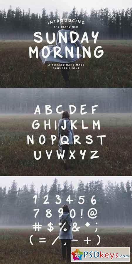 Sunday Morning - Sans Serif Font 537134