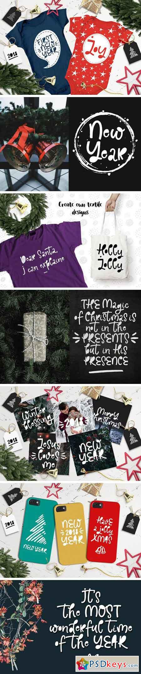 Holly Jolly Font 2072085