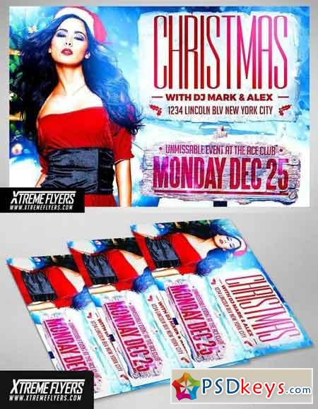 Christmas Party Flyer 2032489
