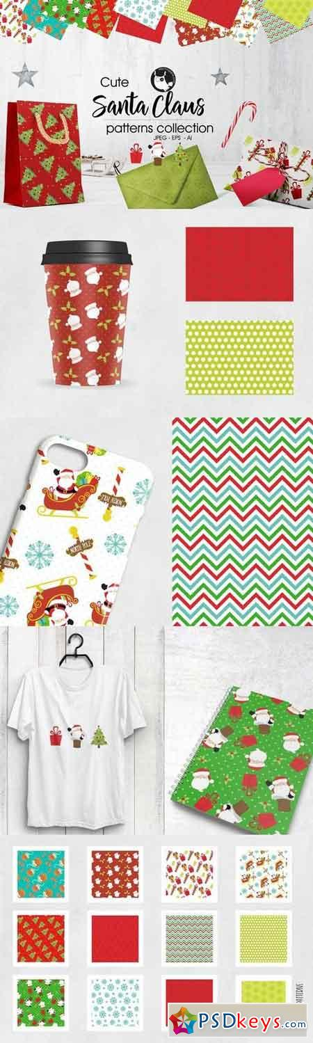 SANTA CLAUS Pattern collection 2018370