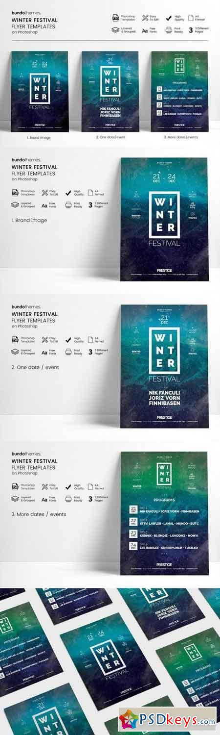 Winter Festival Flyer 2031122