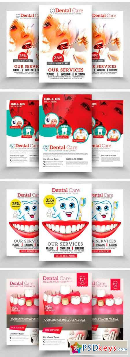 10 Dental Care Flyer Bundle Vol 01 2115770