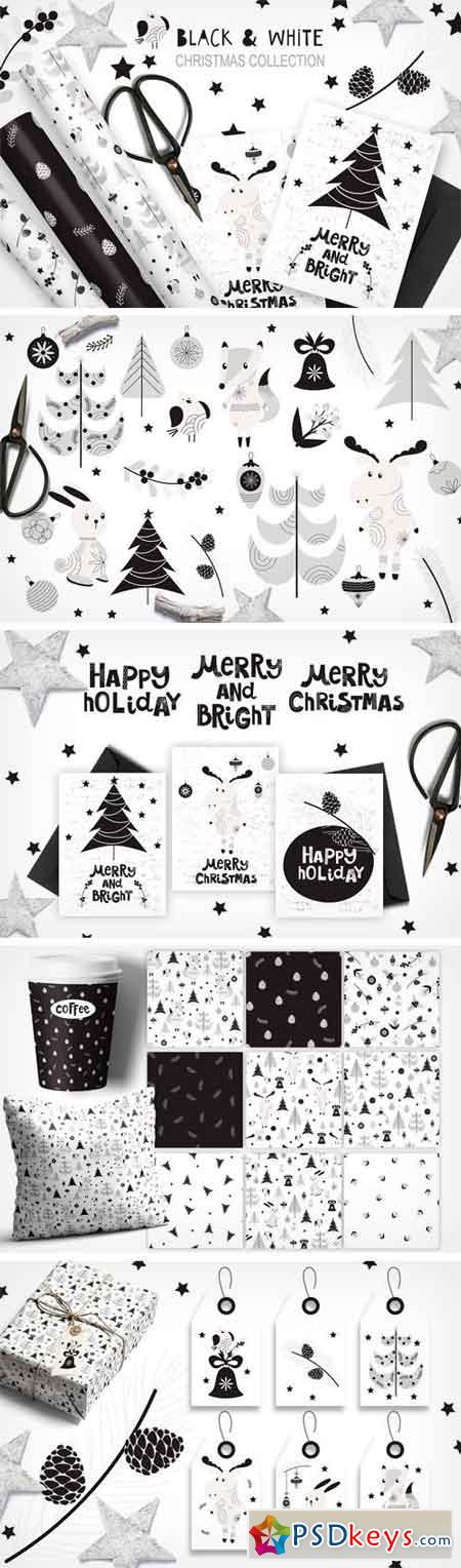 White and Black Christmas Collection 2084449
