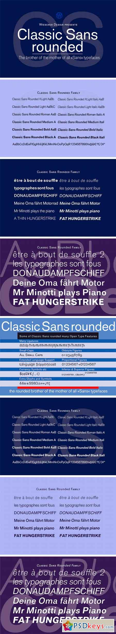 Classic Sans Rounded 2085679
