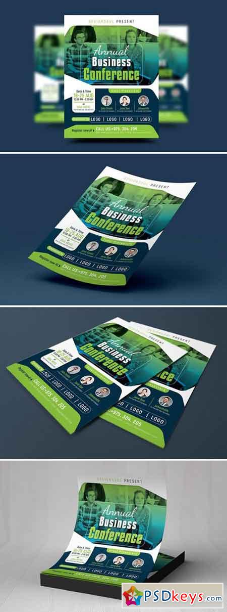 Business Conference Flyer 2087672